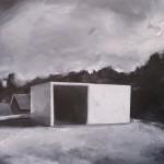 Sin titulo - óleo sobre madera -30 x 30 cm