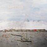 Sin titulo - óleo sobre postal - 17,5 x 12 cms