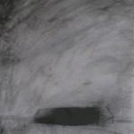 Serie Habitar un lugar - Carbón sobre papel  37,5 x 27, 5